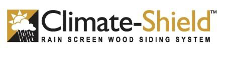 Climate-Shield™ Rain Screen Wood Siding System logo