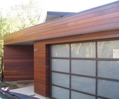 Climate Shield Rain Screen System using high density hardwood siding
