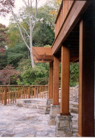 Ipe Porch Columns, Ipe posts and Ipe timbers