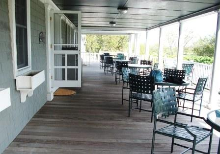 Ipe decking at Point Judith Country Club, Rhode Island