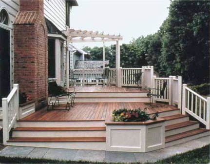 Compare hardwood decking to composite decking materials for Composite decking comparison