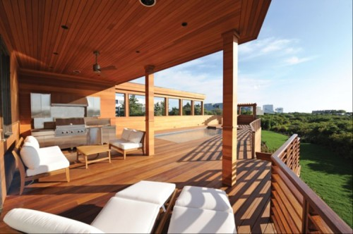 Magnificent cumaru wood decking