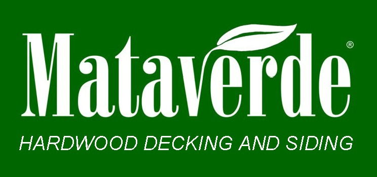 Mataverde Hardwood decking and Siding logo  Green