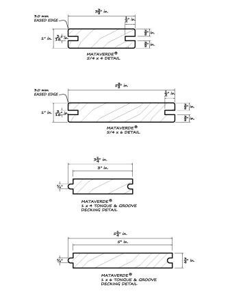 Deck specifications architectural details for T g roof decking
