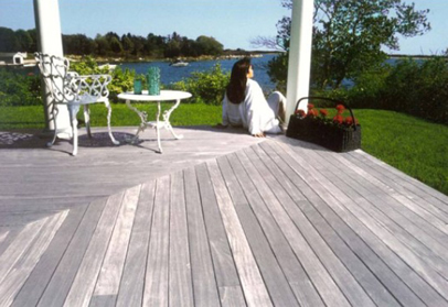 virtually maintance free ipe decking
