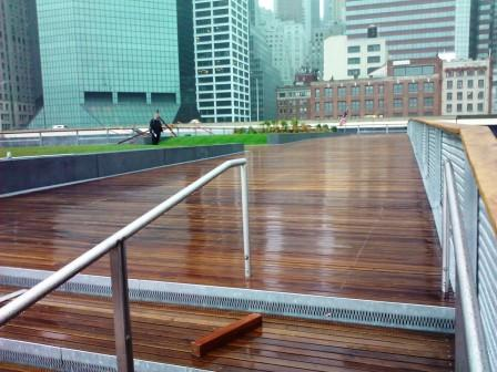 Cumaru hardwood decking is so durable it can be used for cumaru boardwalks and cumaru  walkways