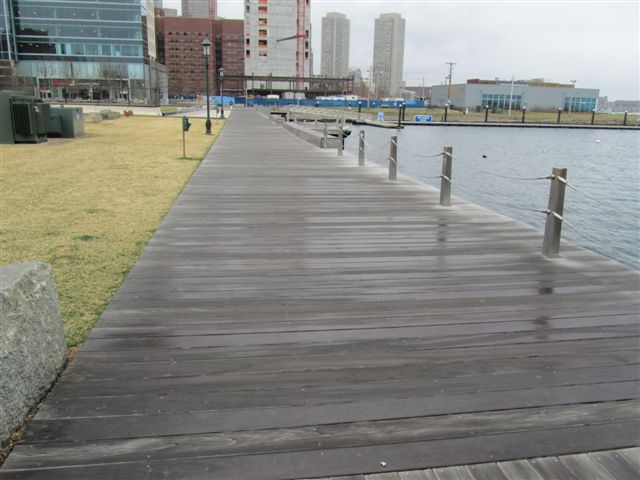 Santa Maria hardwood boardwalk