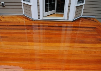 Wood decking cost of wood decking vs composite for Ipe decking vs trex