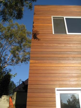 high density wood siding rain screen system