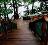 Ipe decking with Penofin oil finish