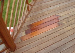 ipe decking can be cleaned and oiled any time