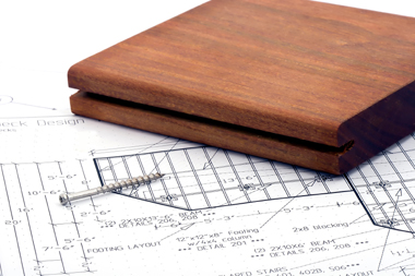 Mataverde hardwood decking installation