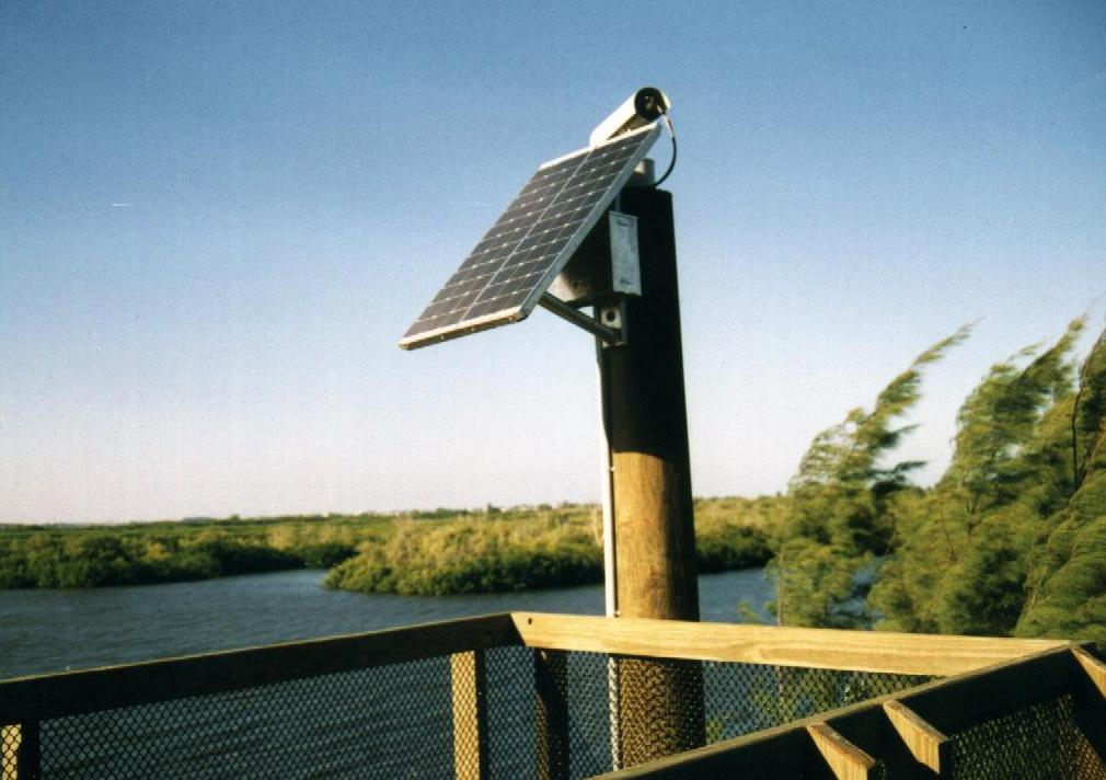 Solar Powered Camera