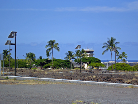 Kona Airport Solar Parking Lot Lighting