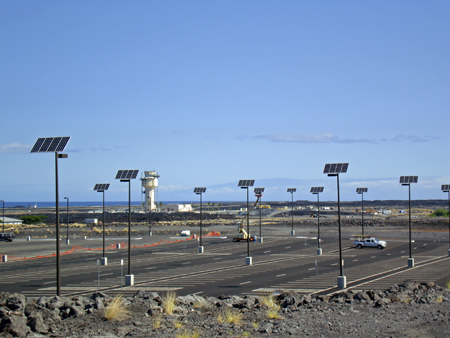 Airport Parking Lot Solar Lights