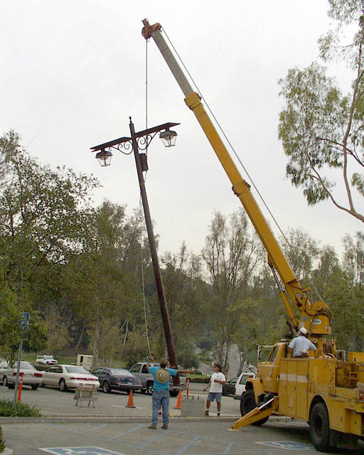 Parking Lot Light Pole Grounding: AHGC Solar Parking Lot Lighting: Blast From The Past