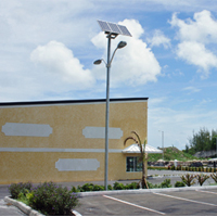 Solar Parking Lot Lighting
