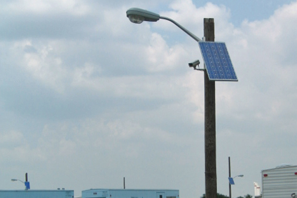 Solar Powered Security Lights Rv Storage Facility