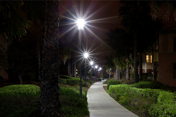 solar lighting for pathways