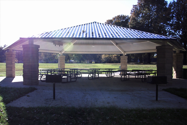 Solar Pavilion Lighting For Parks And Public Spaces