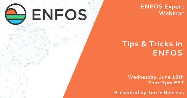 ENFOS Expert Webinar - Tips & Tricks in ENFOS