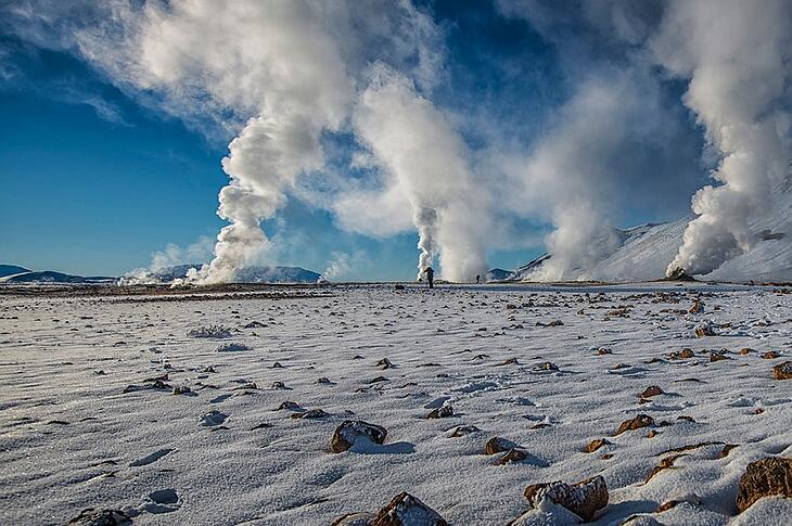 Icelandic Scientists Are Turning Waste CO2 Into Stone
