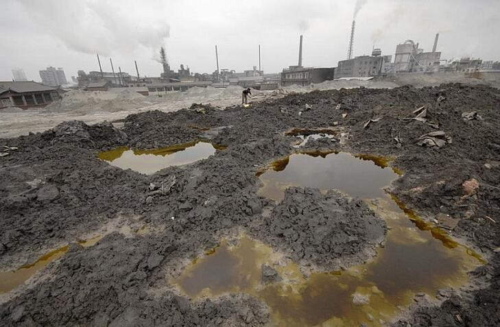 Under The Surface: The Environmental Liabilities of China's Soil