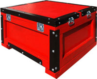 custom shipping crates with steel