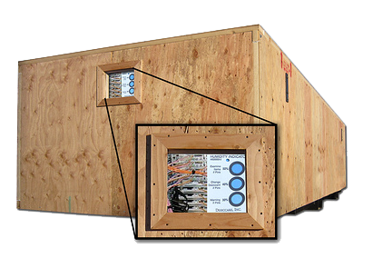 inspection windows wood crates