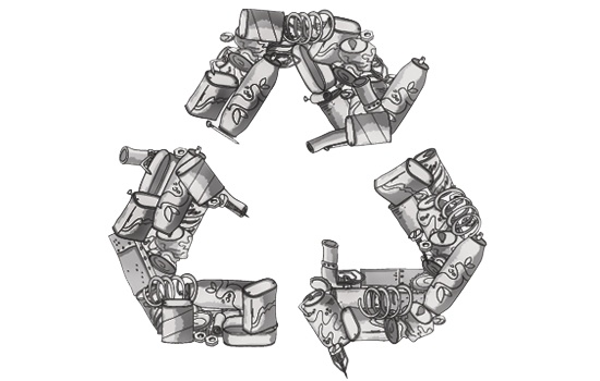 Image result for recycling scrap metal