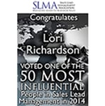 Top 50 Most Influential in Sales Lead Management 2014