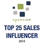 Top 25 Sales Influencers Open View