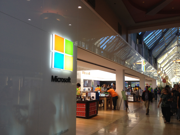 Microsoft Store in Boston, Shops at Prudential Center