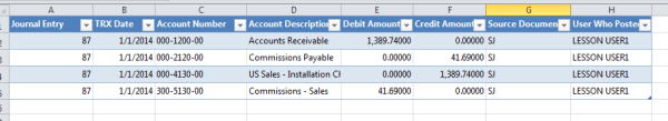 Microsoft Excel Table, see how to use Excel as your Microsoft Dynamics GP report writer.