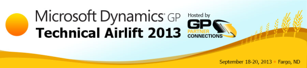 Belinda Allen and Leslie Vail share their documents and files from the Microsoft Dynamics GP Technical Airlift 2013.