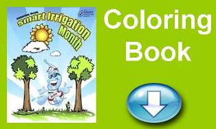 July Smart Irrigation Month Coloring Book