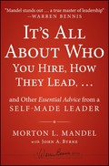 Its All About Who by Morton Mandel - Leadership Book Review