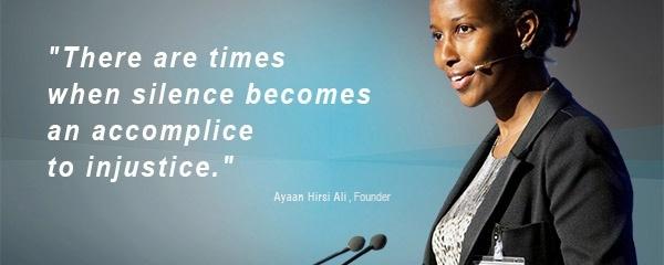 Ayaan Hirsi Ali,  Founder