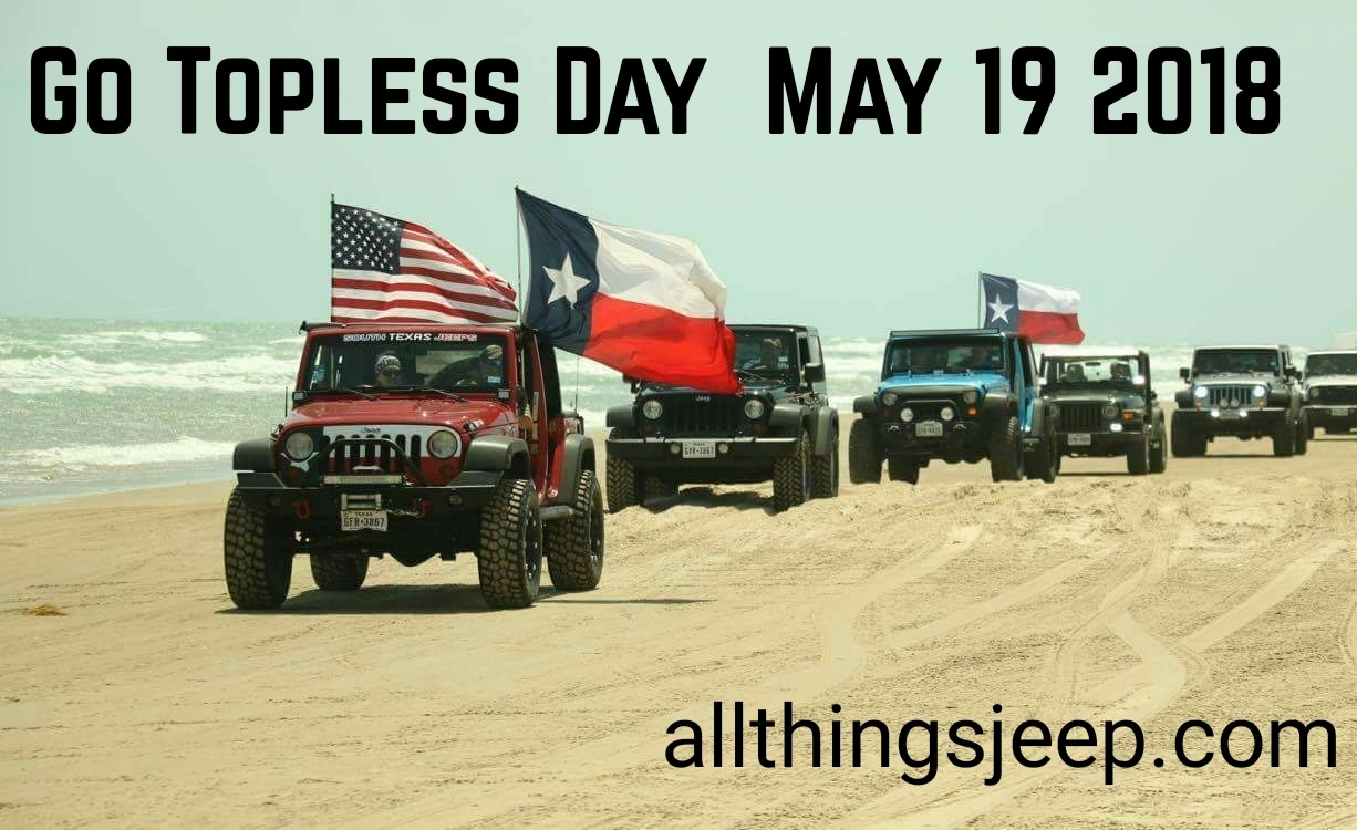 AllThingsJeep.com's Go Topless Day 2018 Photo Contest