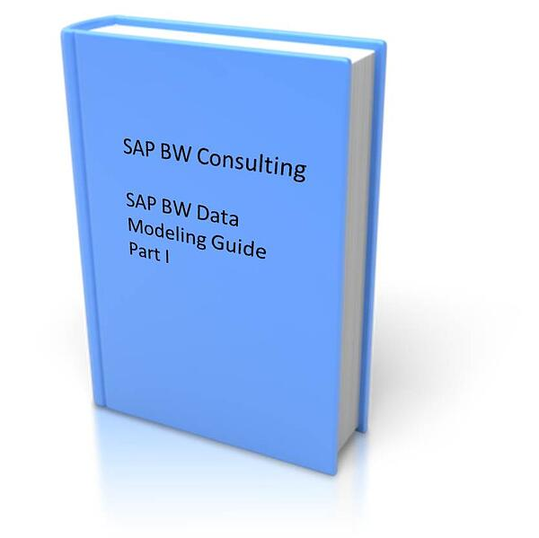 sap bw data modeling guide part i