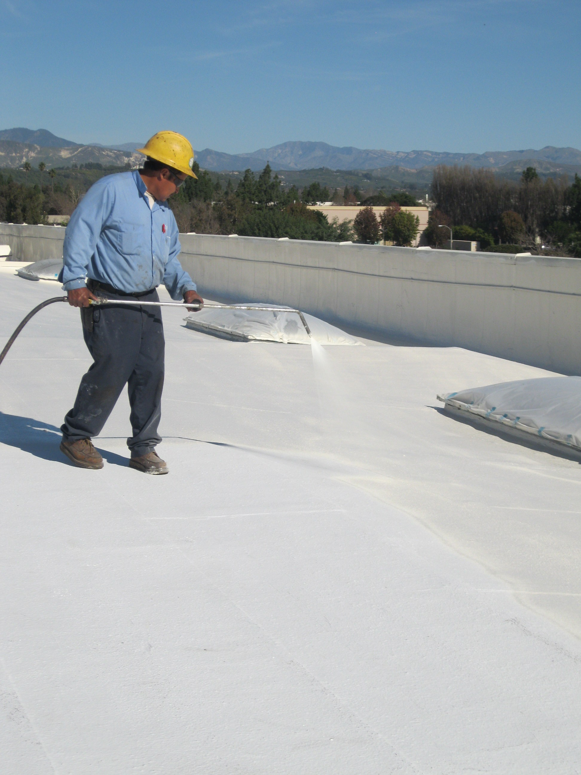 3 mon applications for roofing repairs using a roof coating