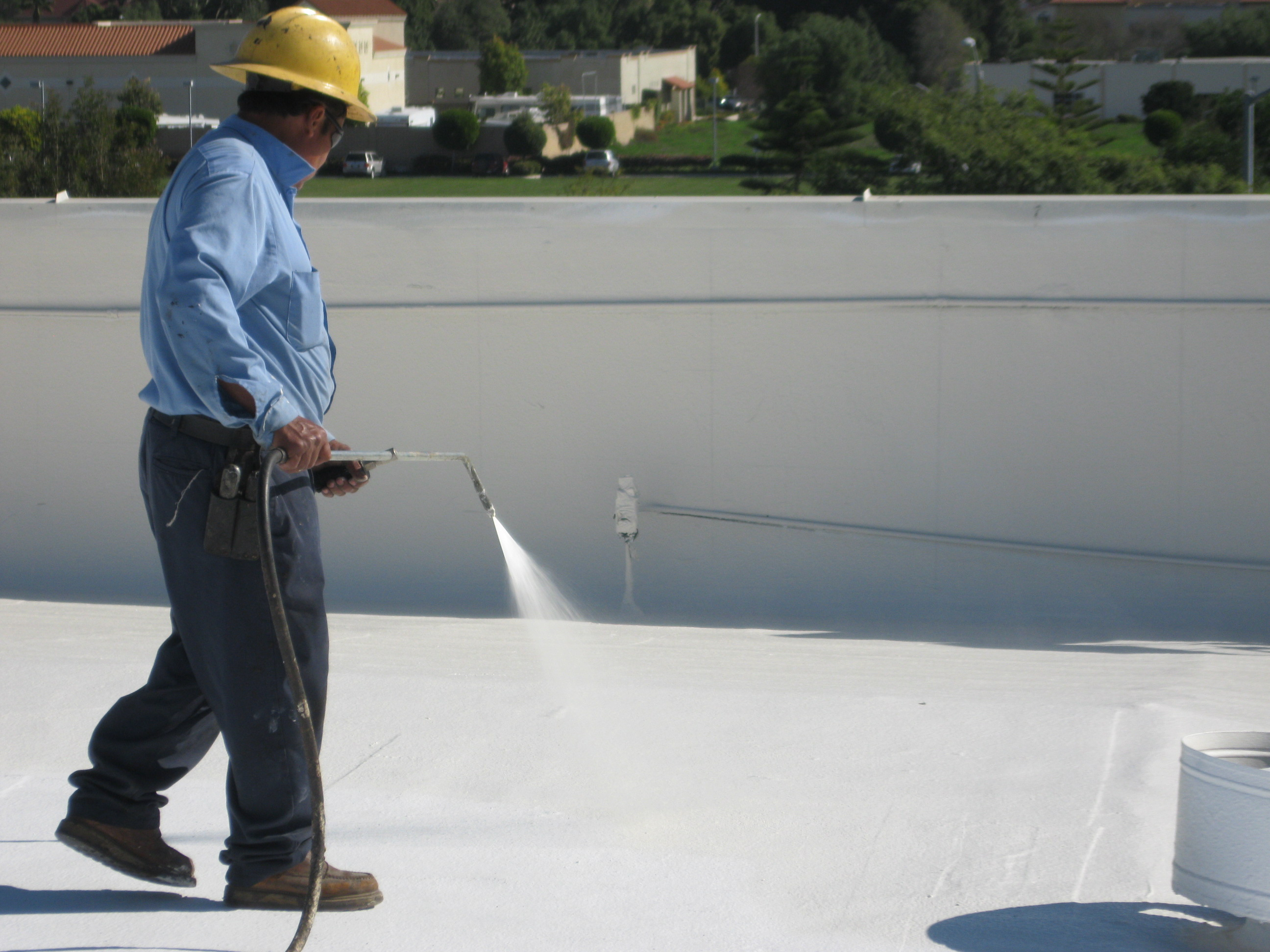 Spray Applied Roofing What Are Roof Coatings