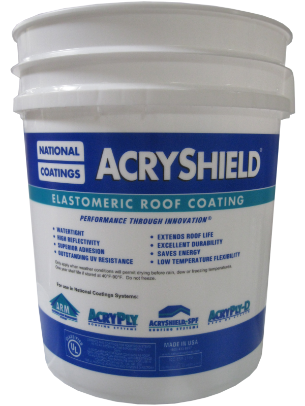 Acryshield A502 Roof Coating Often Imitated Never