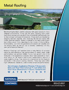 Metal Roofing Brochure