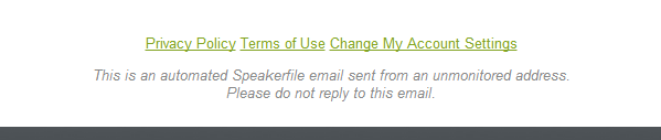 do not reply to this email