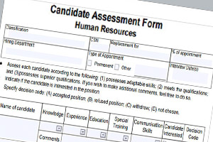 hiring assessment