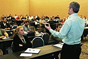 speaker at seminar