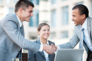 millennials meeting with boss