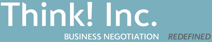 Think! Inc., business negotiation, redefined