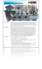 Armadex Bolt-down Rubber Brochure